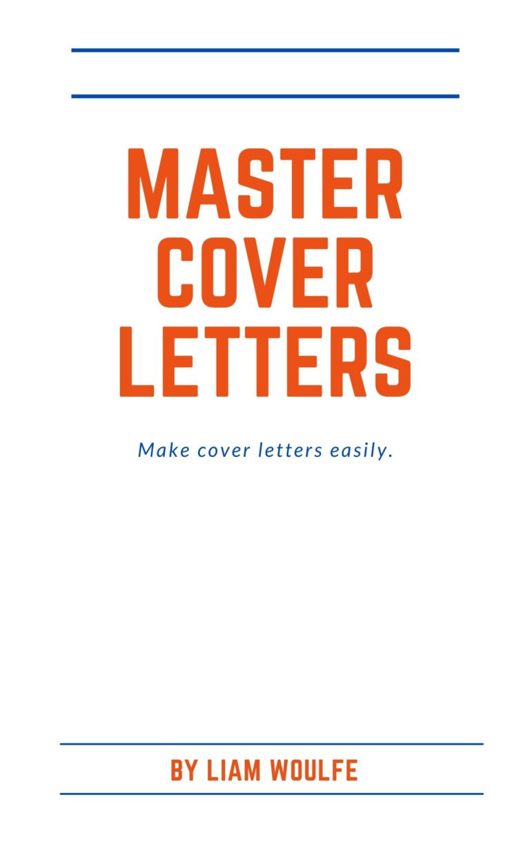 Master Cover Letters Book Cover Logo